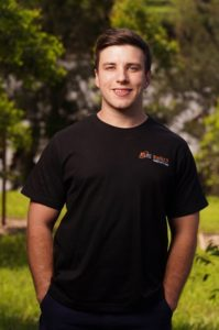 Bradon Back, director of Back's Electrical Services