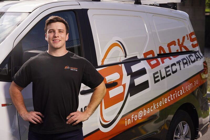 Back's Electrical Services in the Blue Mountains and wider Penrith area of NSW